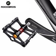 ROCKBROS 4 подшипники велосипедные педали противоскользящие Сверхлегкие ЧПУ MTB горные велосипедные педали герметичный Подшипник педали велосипедные аксессуары