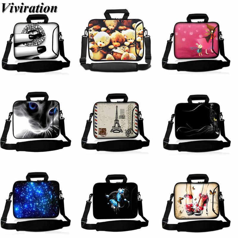Cute Laptop Cases 15.6 for Women Laptop Shoulder Bag Carrying Briefcase Handbag Sleeve Case Cherry Blossom Sakura Pink