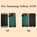 ЖК-дисплей для Samsung Galaxy S6 G920 S7 G930 TFT ЖК-дисплей сенсорный экран дигитайзер для Samsung S6 S7 ЖК-дисплей экран