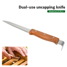 Bee Hive Scraper Take Honey Uncapping Knife Dual-Use Beekeeping Tools for Honeycomb Supplies Beekeeper Equipment