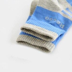 Image 5 - 5 זוגות גרבי גברים כותנה ספורט גרבי מותג זכר גרבי איש פנאי באיכות גבוהה לנשימה נוח ועמיד גרבי עבור איש