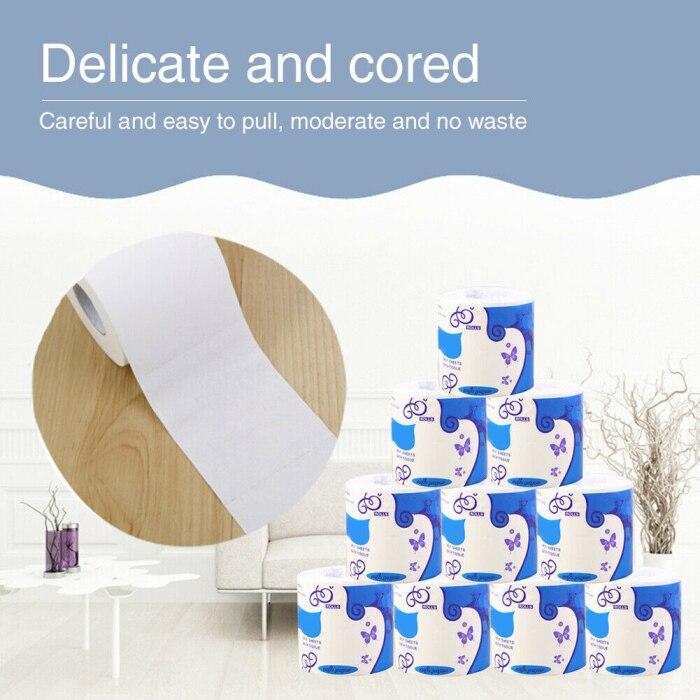 10 rolos de papel higiénico a granel