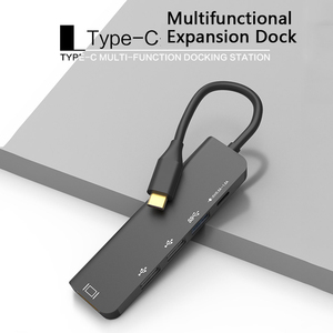 Image 5 - AIXXCO USB C HUB USB C à 3.0 moyeu HDMI Thunderbolt 3 adaptateur pour MacBook Samsung Galaxy S9 Huawei P20 Mate 20 Pro Type C HUB USB