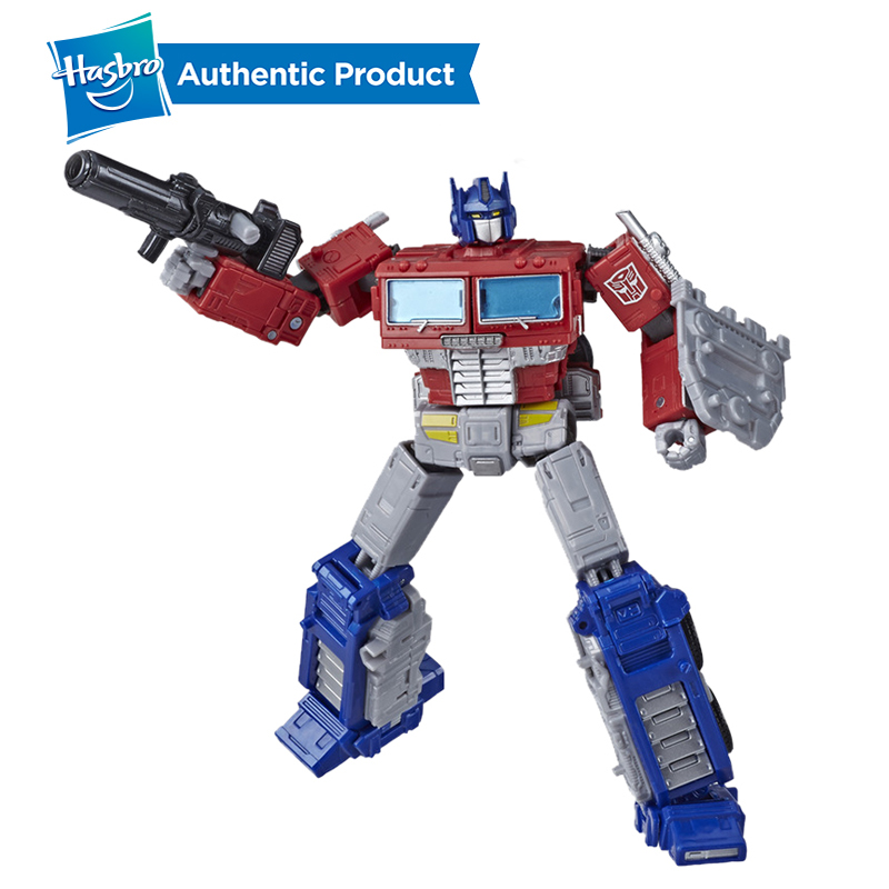 Hasbro Transformers Toys Generations War For Cybertron Earthrise Leader WFC-E11 Optimus Prime WFC-E23 Astrotrain Action Figure