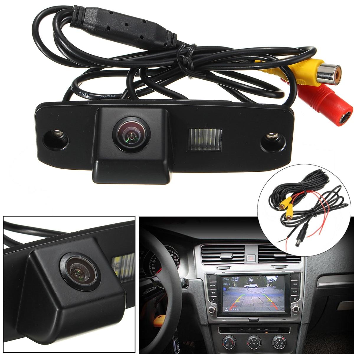 CCD Auto HD Car Rear View Camera Rearview Reverse Parking Waterproof For Kia Sorento Opirus Carens For Hyundai Elantra