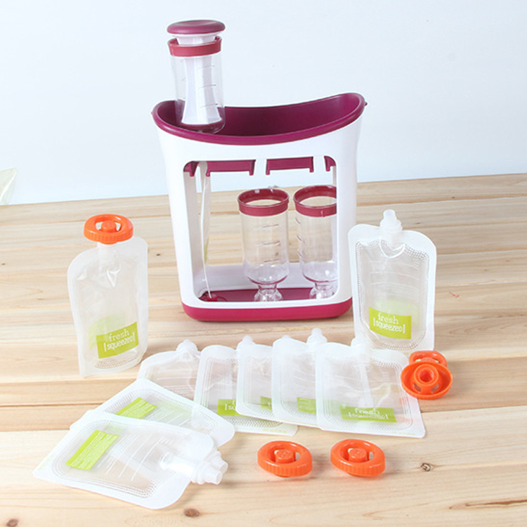 2019 Baby Food Maker Make Organic Food For Newborn Fresh Fruit Juice Containers Storage Baby Feeding Maker Kids Insulation Bags|Baby Food Mills|   - AliExpress