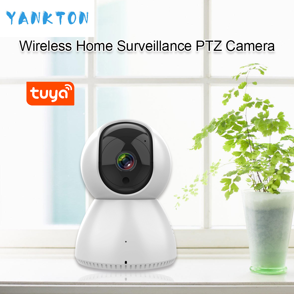Tuya Smart Wireless PTZ IP Camera 1080P 720P HD Surveillance Camera Home Security Camera Night Vision WiFi Camera Baby Monitor