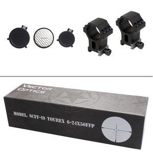 Image 5 - וקטור אופטיקה Tourex 6 24x50 1/4 מואה צריח אפס להפסיק התאמת מואה Reticle FFP Riflescope לציד