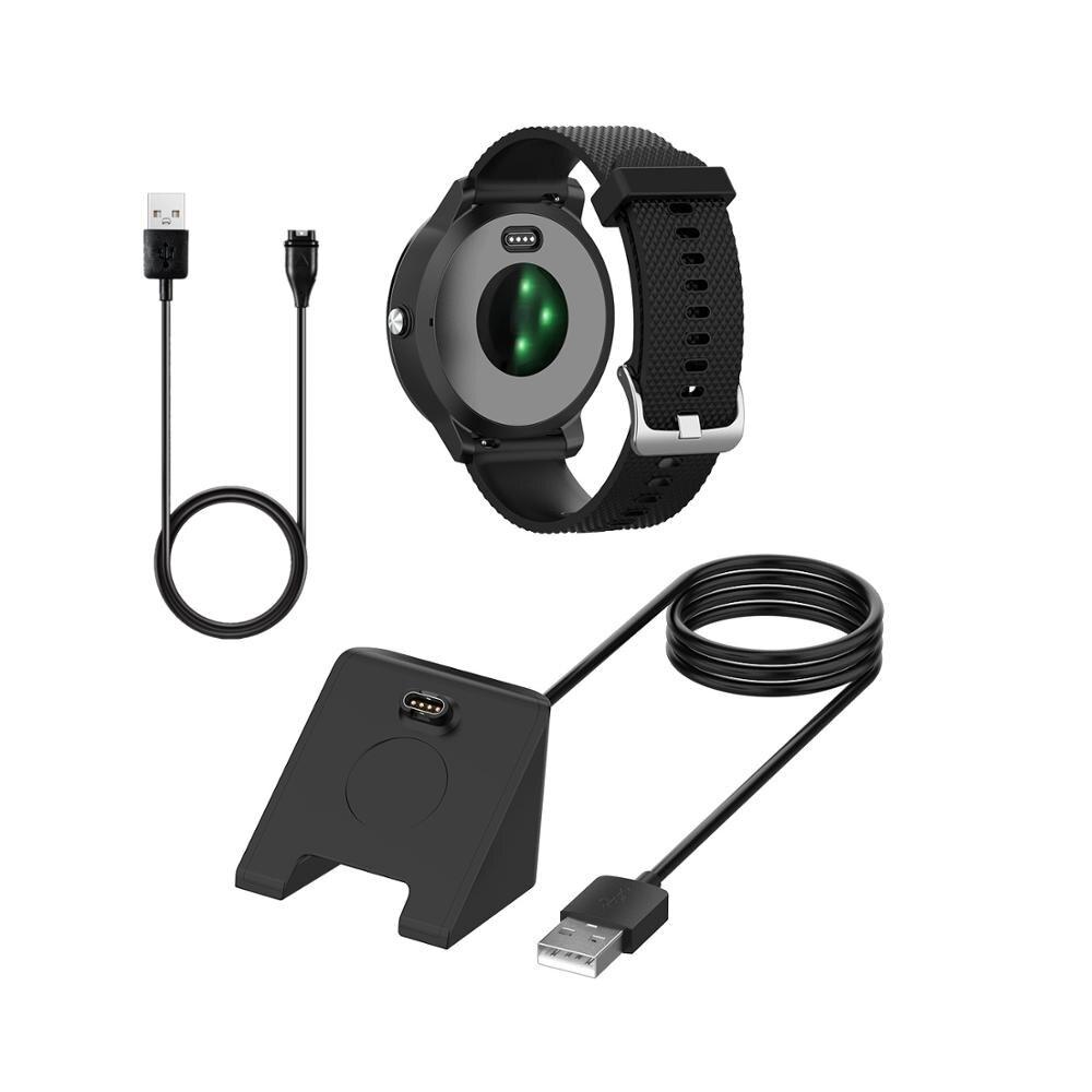 Replacement USB Charging Cable For Garmin Fenix6 6S 6X 5X Venu Data Line Vivoactive3 Active Charger