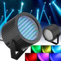 2 قطعة 86 RGB 25 واط 7 قنوات LED ضوء المرحلة DMX جهاز عرض ليزر LED مصباح DJ ديسكو نادي بار كشاف إضاءة المرحلة تأثير
