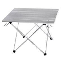 Портативный стол складной походный стол путешествия на открытом воздухе пикник синий серый розовый черный алюминиевый сплав ультра-светильник S L