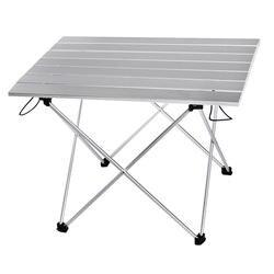 Портативный Складной Стол складной кемпинг походный стол путешествия открытый пикник новый синий серый розовый черный Al сплав
