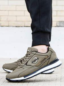 BONA Sneakers Men Casual-Shoes Krasovki Designers Trendy New Man Outdoor Nubuck Sapato