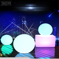 LED Charge luminous ball lamp waterproof decoration indoor landing lawn wedding stage colorful ball lamp led kitchen cabinets