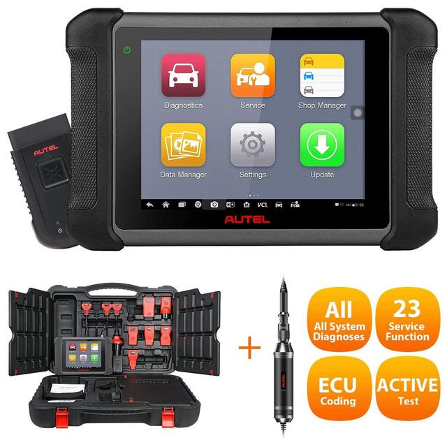 Autel OBD2 Xe Công Cụ Chẩn Đoán Maxisys MS906BT Bluetooth Không Dây Máy Quét Chìa Khóa Mã Hóa Immobiliser Lạnh 1 Đa Nhiệm Thiết Kế
