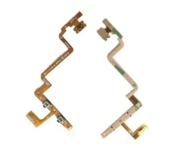 100pcs 100% Tested High Quality Wholesale,For ipod touch 4 power on off volume button flex cable