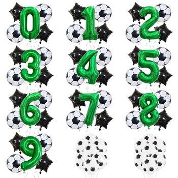 בלוני מספרים בנושא כדורגל