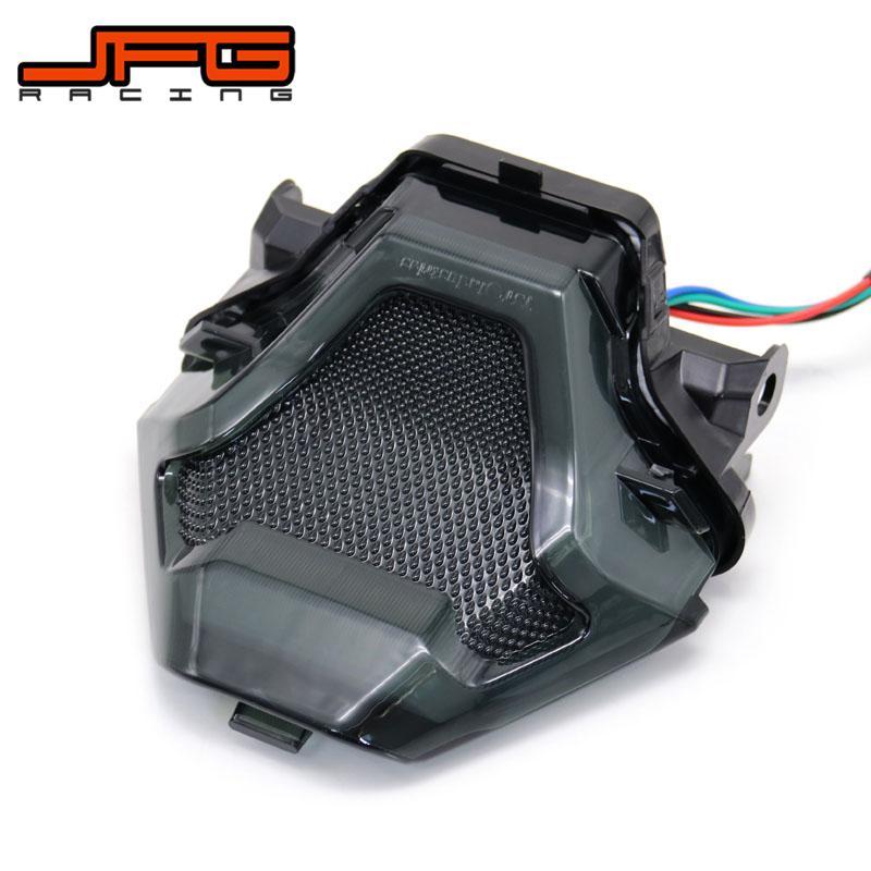 Motorcycle LED Rear Tail Brake Lights Turn Signal Brake Light For YAMAHA YZF R3 R25 Y15ZR MT07 YZF FZ07 LC150 YZF-R3 YZF-R25