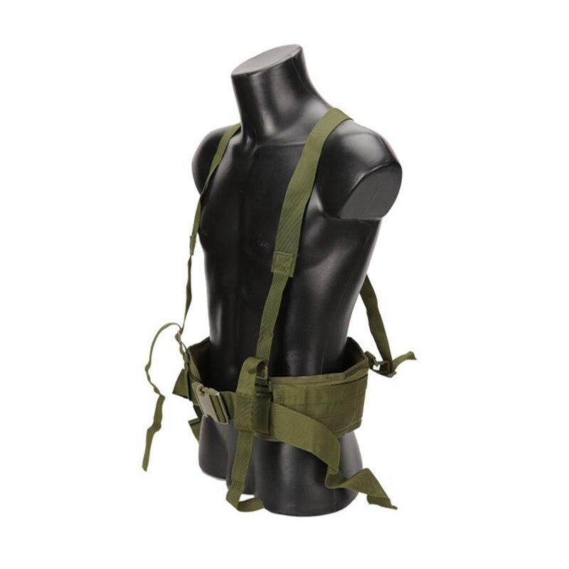 Tactical Waist Belt Cummerbunds Men Vest Belt Nylon Molle Belt Padded CS Combat Hunting Military Waist Support Hiking Camping