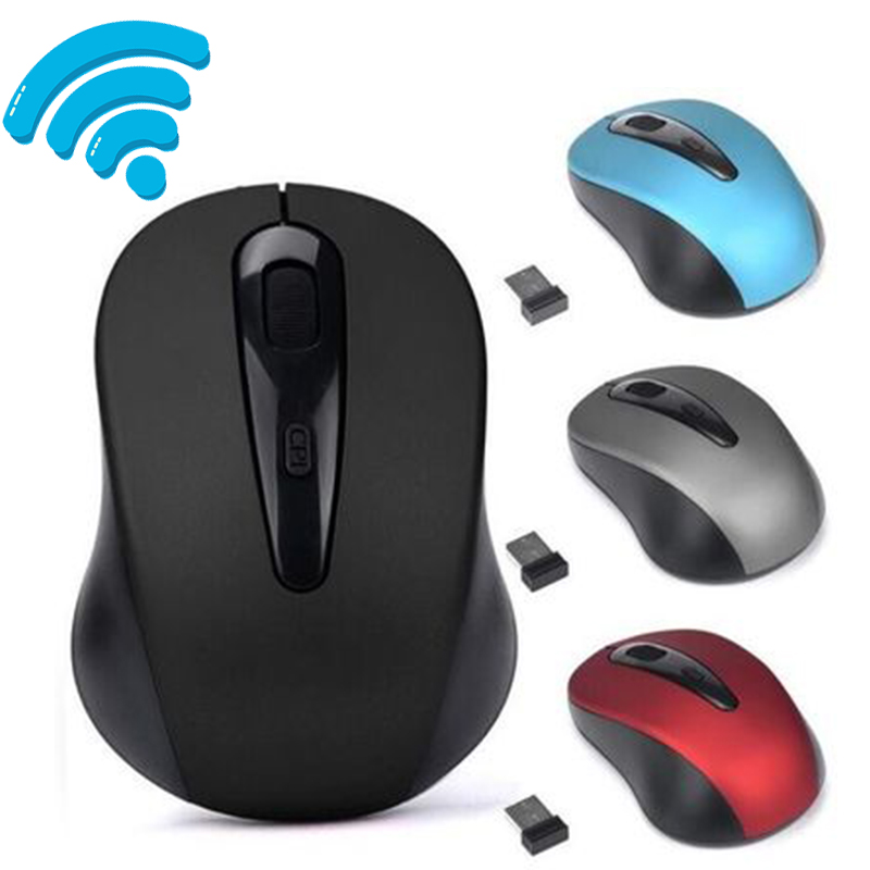 USB Gaming Wireless Mouse Gamer 2.4GHz Mini Receiver 3 Keys Professional Computer Mouse Gamer Mice For Computer PC Laptop