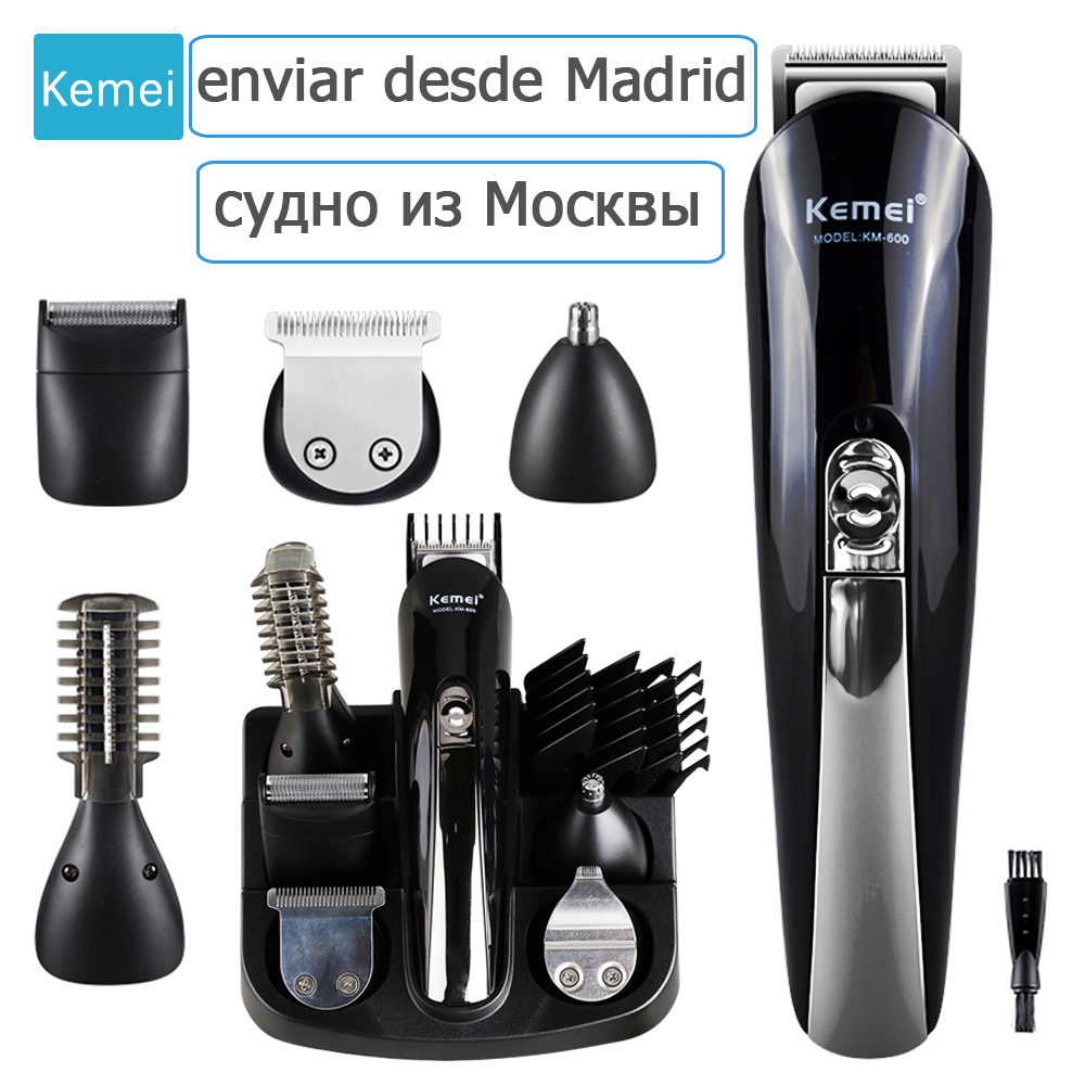 Kemei Hair Trimmer Multifunction Hair Clipper Professional Trimmer Electric Beard Trimmer Hair Cutting Machine Trimer Cutter 3
