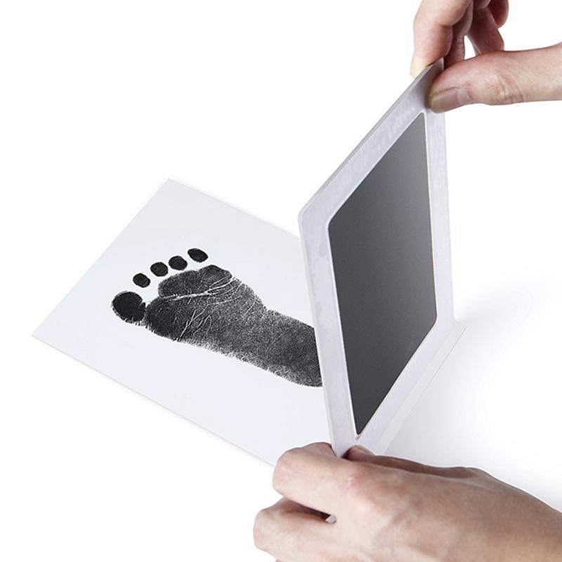 Фоторамка Snailhouse для новорожденных, Нетоксичная сенсорная чернильная подставка с принтом рук, сувенир для девочек, мальчиков, младенцев, игр...