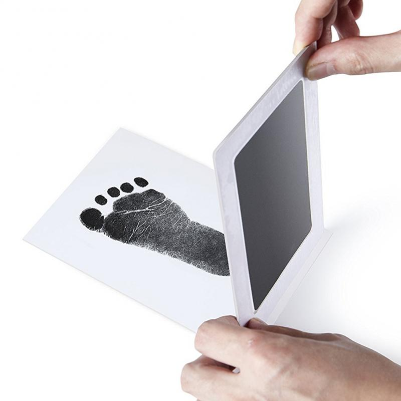 Фоторамка Snailhouse для новорожденных, Нетоксичная сенсорная чернильная подставка с принтом рук, сувенир для девочек, мальчиков, младенцев, игрушка для декора