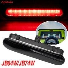 Apktnka Auto Led Verlichting Onderdelen Voor Suzuki Jimny JB64 JB74W Achterlichten Center High Mount Remlicht 3rd Derde Remlicht licht