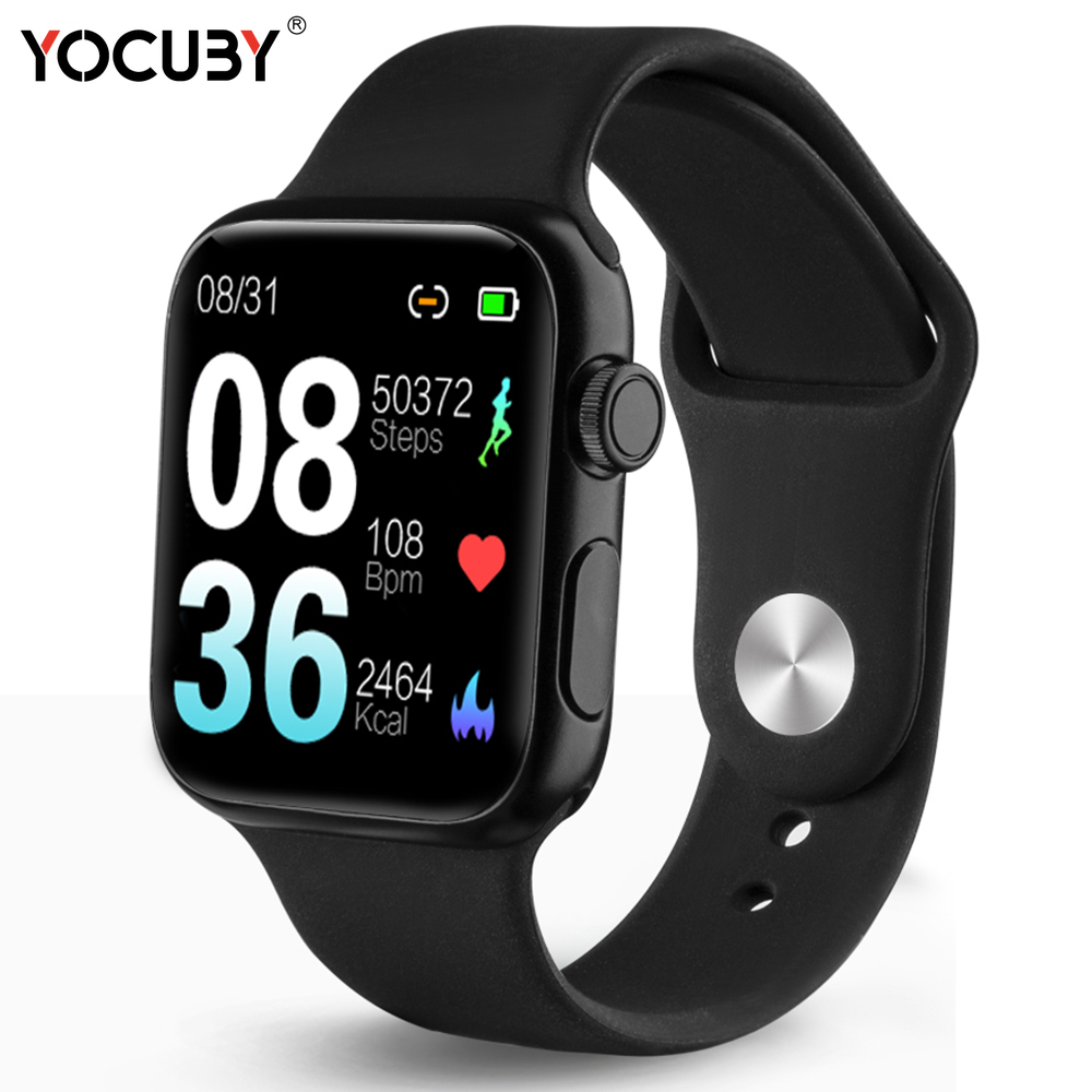 Smart watch wearable devices IP68 waterproof touch smart electronics heart rate blood pressure smartwatch for Android IOS P20 image