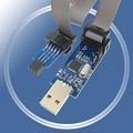 USB-программатор ATMEGA8 ATMEGA128 ATtiny/CAN/PWM 10-контактный проводной модуль