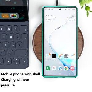 Image 5 - 2019 Metalen Magnetische Adsorptie Glas Case Voor Samsung Galaxy Note 8 9 10 Plus S10 S9 S8 Plus Anti  spy Screen Case Cover Coque