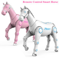RC Smart Robot interactive Remote Control Horse intelligent Dialogue Singing Dancing Animal Toys Children Educational toys Gift