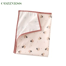 COZINESS Changing Pad For Babies Children Waterproof Diaper Korean Style Washable Overnight Breathable Baby Outdoor Changing Pad