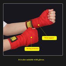 Повязки для тренировок повязки Длина 5 м 5 см ширина 2 шт./упак. боксерские бинты для ММА Муай Тай кик боксинга