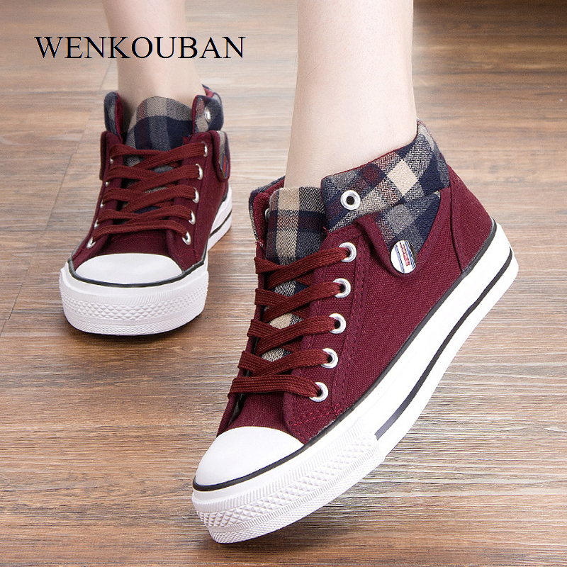 Fashion Sneakers Women Casual Shoes Female Sneakers Winter Vulcanize Shoes Woman Lace-Up LadiesTrainers Tenis Feminino 2020