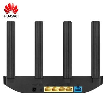 Huawei Router WS5108 11AC MU-MIMO Wifi Repeater 100 Megabit 2.4G / 5G Dual Band 5dBi High Gain Antennas 1167Mbps 1GHz aruba instant iap 325 rw wireless network access point jw325a 802 11ac 4x4 mimo dual band radio integrated antennas