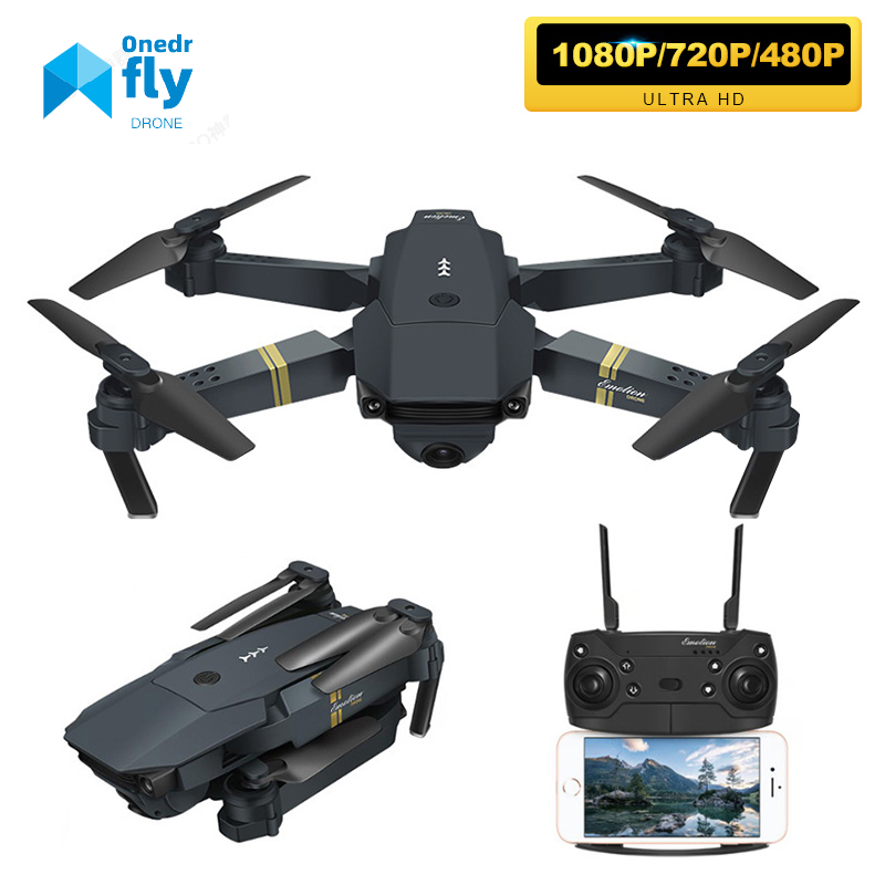 E58 Drone With Wide Angle HD 1080P Camera Hight Hold Mode Foldable Profesional Ultra-long Life Drone With Best Gift For People