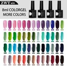 Nails UV Gel Nail Polish Set For Manicure Gel Varnish Hybrid Semi Permanent Gel Lacquer Soak Off Nail Art недорого