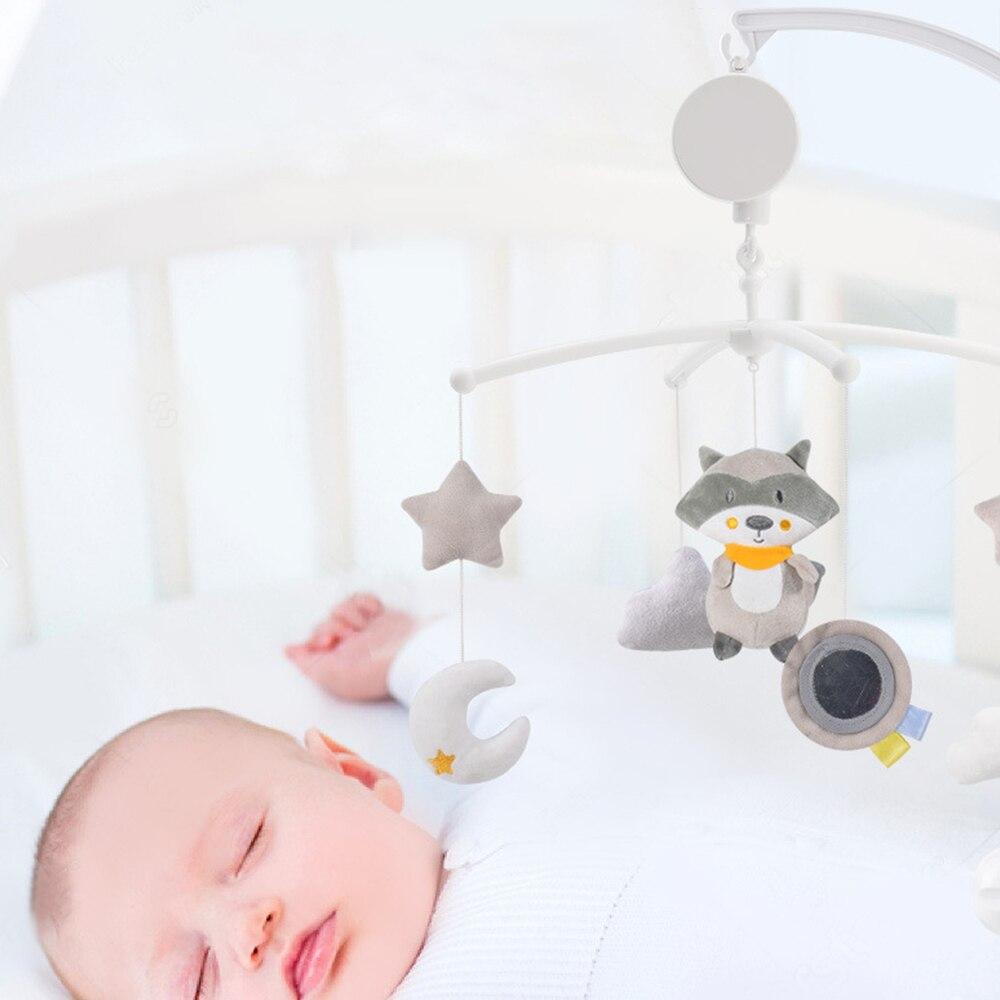 do bebê caixa de música relógio cama