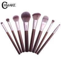 CHMAKE Makeup Brushes Set Blusher Foundation Eyeshadow Make Up Brushes Kit Professional pincel maquiagem Travel Make Up Tool