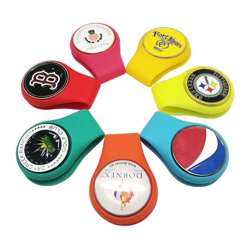 support-de-marqueur-de-boule-d'agrafe-de-chapeau-de-golf-de-silicone-avec-la-fixation-magnetique-forte-a-votre-cadeau-de-vetements-de-ceinture-de-bord-de-poche