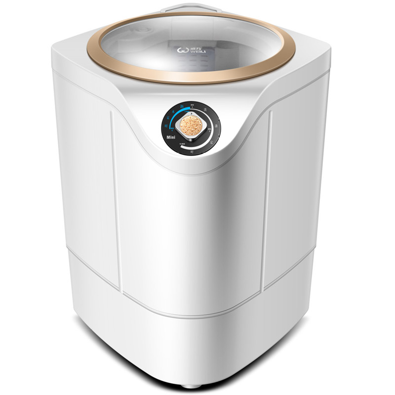 Baby Mini Washing Machine Underwear Dedicated Integrated Children Single Barrel Household Semi-automatic Socks Washer Machine