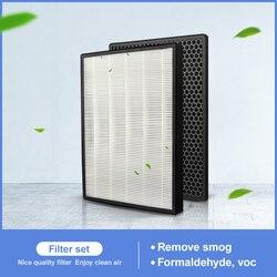 2 PCS H13 HEPA ersatz und carbon filter FY3433 FY3432 für luftreiniger AC3256 AC3260 zu filter PM2.5, geruch