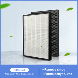 2 PCS H13 HEPA replacement and carbon filter FY3433 FY3432 for air purifier AC3256 AC3260 to filter PM2.5,odor