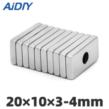 AI DIY 5/10/50 pcs 20mm x 10mm x 3mm-4mm N35 neodymium magnet super strong power magnets 20 * 10*3-4mm