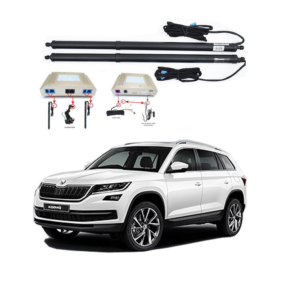 New Electric Tailgate Refitted For SKODA KODIAQ 2017 -Tail Box Intelligent Electric Tail Door Power Tailgate Lift Lock