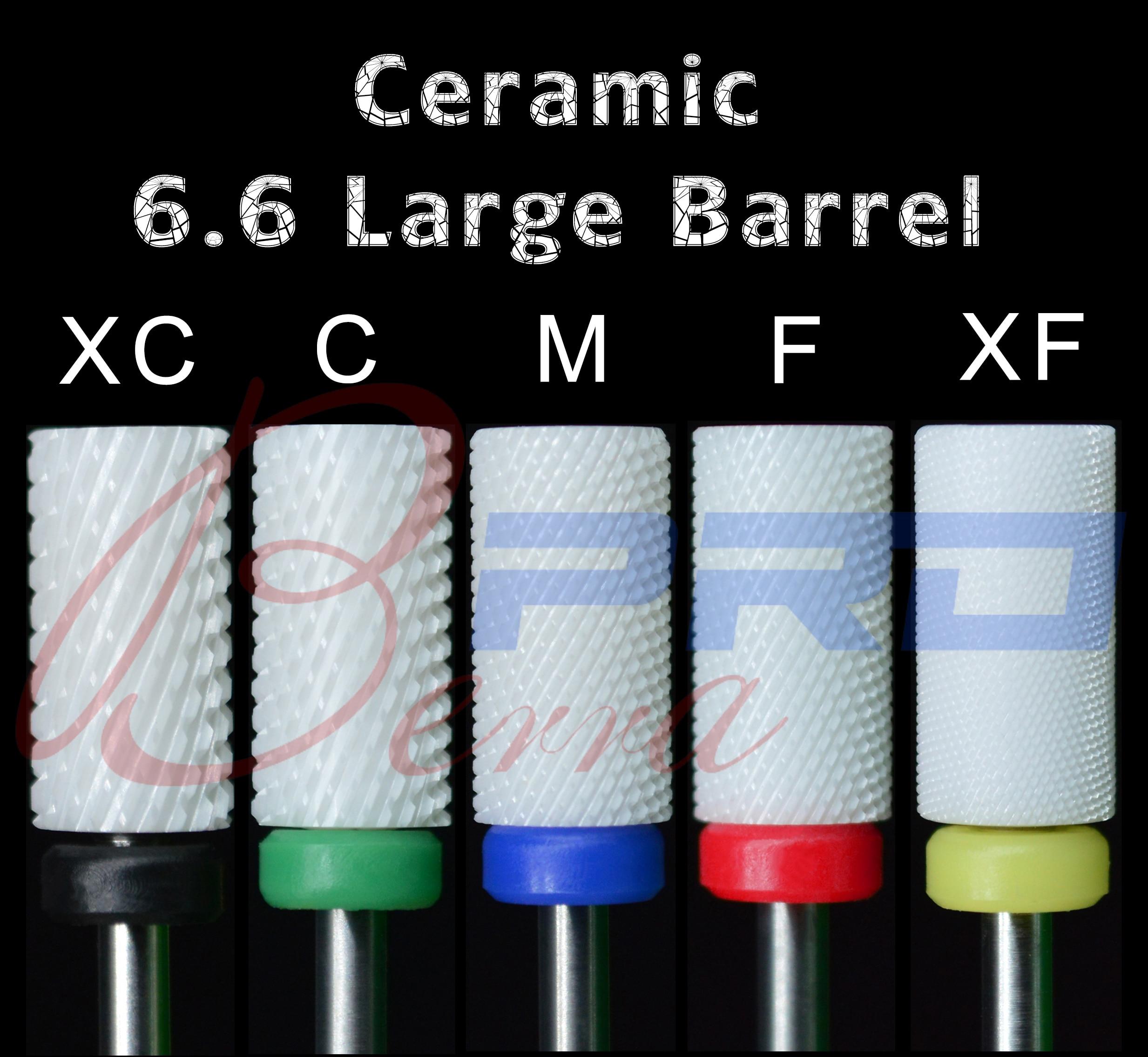 Proberra 6,6 мм большая бочка керамические аксессуары биты фрезы заусенцы инструменты для дизайна ногтей|Принадлежности для дизайна ногтей|   | АлиЭкспресс