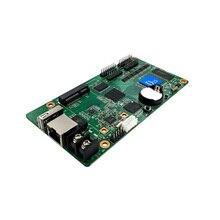 Asenkron HD D15 4 * HUB75 veri arayüzü RGB tam renkli led ekran WIFI USB kontrol kartı, küçük boyutlu ekran kontrol kartı