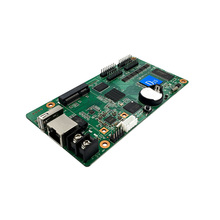Асинхронный HD D15 4 * HUB75 интерфейс передачи данных RGB полноцветный светодиодный дисплей wifi карта контроля USB, маленький размер экран контрольная карта