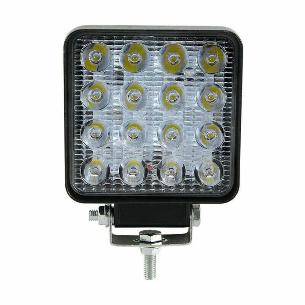 2x 48W Car Auto LED Work Light Lamp Spotlight 12V-24V 6000K Bulbs 3520LM Parts